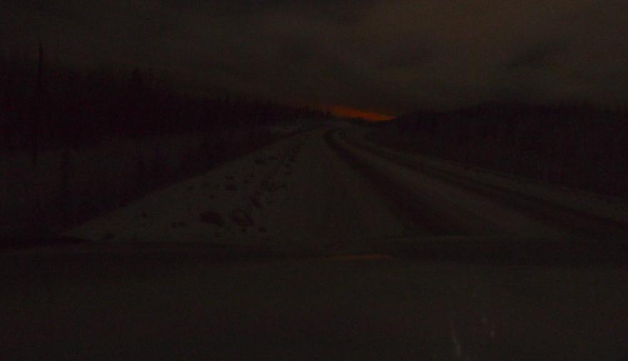 Alaska Highway south