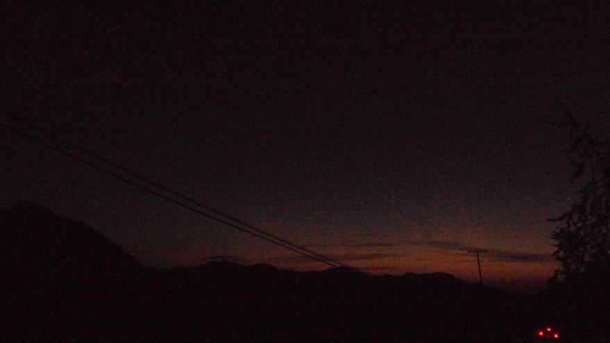like the sunset
